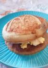 マックグリドルで玉子サンド