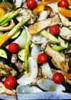 簡単☆鶏肉と野菜のオーブン焼き ヘルシー