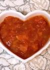 ♡鶏のささみと根菜のトマト煮込み♡