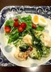胸肉とブロッコリーのマヨ炒め