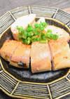 鮭の白子の味噌漬け焼き