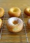 簡単シンプル焼きドーナツ