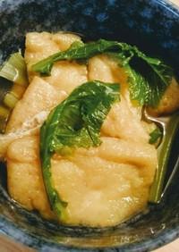 【凪めしレシピ】カブの葉の沁みわたる煮物