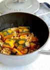 STAUB*ほっくりかぼちゃのそぼろ煮