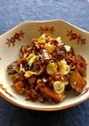 茄子と豚挽肉の甘味噌炒め*ねぎ風味*節約