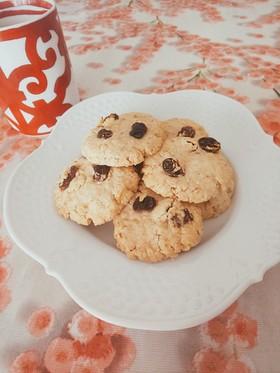 オートミール米粉クッキー