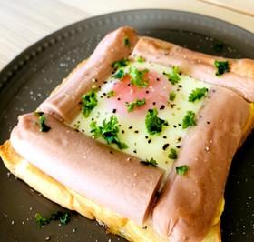 忙しい朝に!ギョニソでエッグトースト