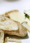 鮭のムニエルクリームソース&浅漬