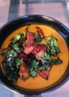 トマトと白インゲン豆スープ