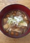 とろりん☆なめこと豆腐のお味噌汁