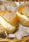 簡単おいしい!ミルキー風味のクリームパン