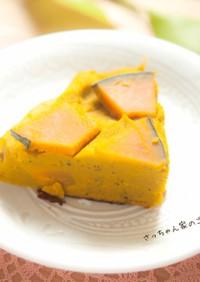 かぼちゃと豆乳のスフレ⁂離乳食のおやつに