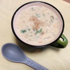 ヘルシー 豆乳スープ