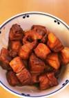ノンフライヤーと圧力鍋で豚の角煮