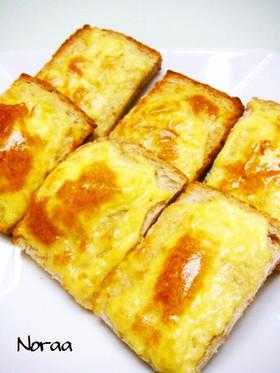 保育園の定番おやつ☆パンせんべい☆