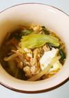 カット野菜で簡単♫野菜を食べる担々スープ