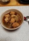 鳥団子とキャベツ入り 胃腸に優しいスープ
