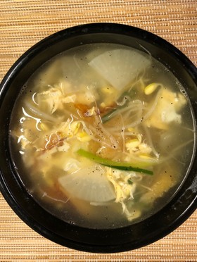 干し鱈スープ