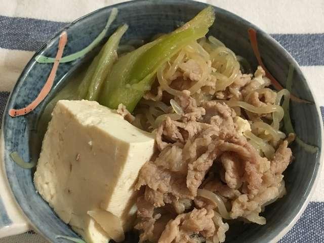 肉豆腐 フライパン