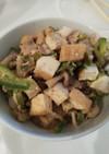 豚肉と厚揚げの味噌炒め