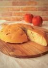 炊飯器で簡単★りんごとさつま芋のケーキ