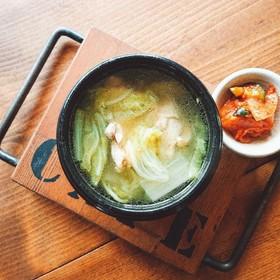 ほっこり❤️白菜と鶏のスープ
