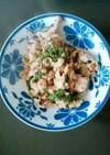 豚肉と大葉のポン酢炒め