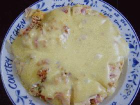 オムレツチーズソース