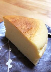 さつまいものスフレチーズケーキ