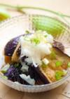 ナスの揚げ浸し⁂麺つゆで簡単