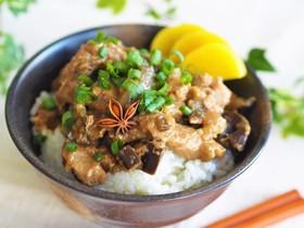 本格♪台湾料理ルーローファン(魯肉飯)