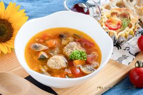 野菜たっぷり元気もりもりスープ