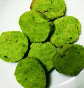 グルテンフリー☆抹茶の米粉クッキー
