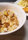 白だしで☆さつま芋と舞茸の炊き込みご飯