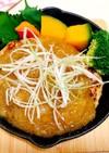 お豆腐ハンバーグ(和風おろしソース)