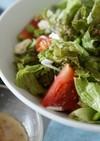 グリーンサラダのピエトロ風ドレッシング