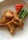鶏肉の和風ムニエル(透析食)