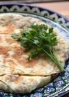 ウズベキスタン♡ネギと牛肉のサモサ