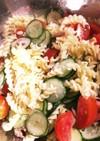 シーチキンとトマトのマカロニサラダ