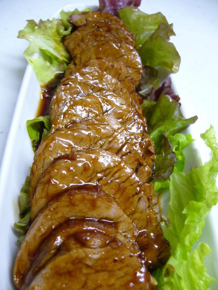 フライパンで20分☆ヒレ肉の簡単焼き豚!