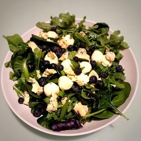 美味しい美しいBlueブルー青のサラダ