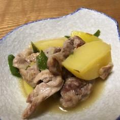 あっさり!豚肉とじゃが芋の中華風煮物