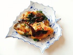 簡単柔らか!鶏胸肉と茄子の美味しい炒め♪