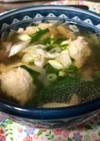 鶏団子スープ(2人分)