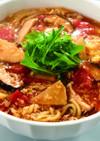 トマトと卵の酸辣湯麺(サンラータンメン)