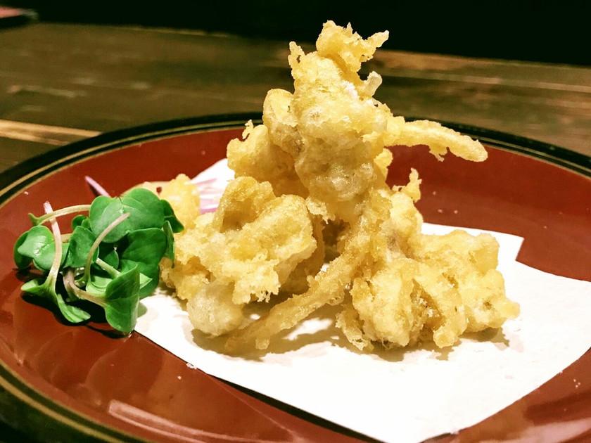 ♪ピーナッツもやしの天ぷら♪