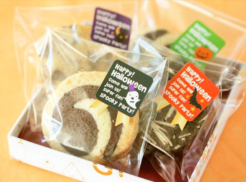 2色のアイスボックスクッキー★ハロウィン