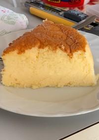 スライスチーズで作る・スフレチーズケーキ