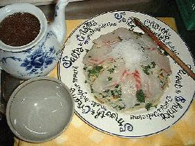 鯛のスープチャーハン