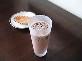 コーヒーゼリー in ココア